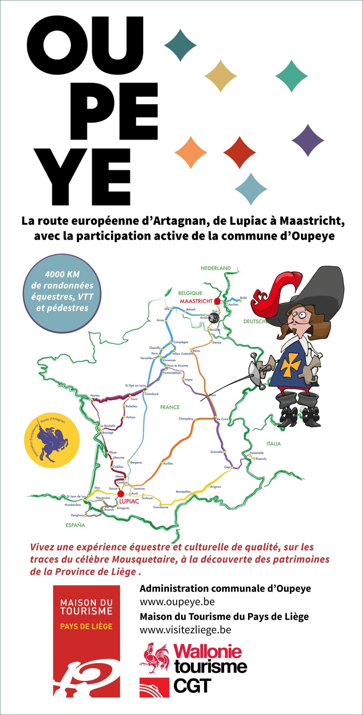 La route d'Artagnan